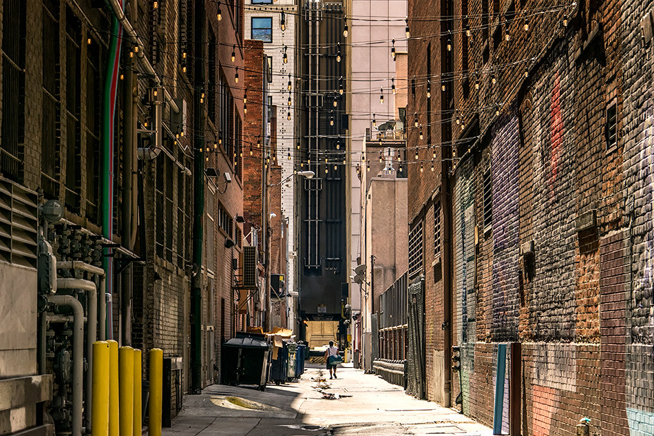 Alley, 16th St. Mall, Denver