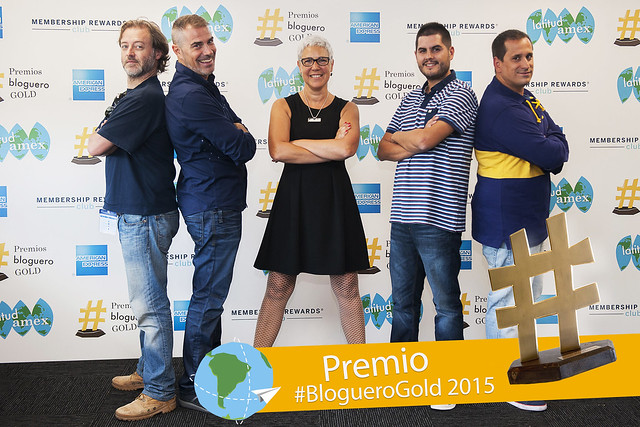 Los nominados a los premios #BlogueroGold de American Express