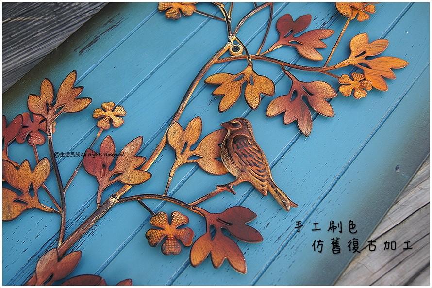 复古风木板壁饰 挂画 复古做旧风格