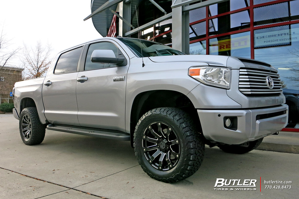 Toyota Tundra with 20in Black Rhino Selkirk Wheels and BFG ...