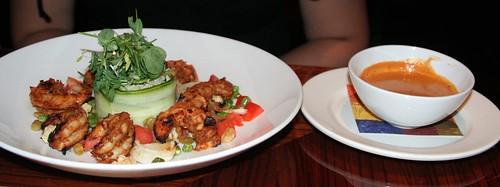 Grilled Wild Gulf Shrimp Curry @ Jiko - Animal Kingdom Lodge  | Disney Food