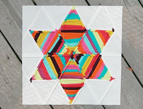 Summer Sampler Series : Six Point String Quilt Block Seams | by Fresh Lemons : Faith