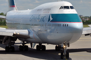 Cathay Pacific 747-412 B-HKF | by caribb