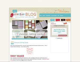 SB on Today's Creative Blog | by SweetBeaker