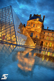 Louvre / sunset | by A.G. Photographe