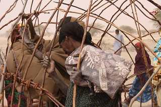 Women making a new house | by Oxfam East Africa