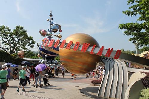 Tomorrowland at Hong Kong Disneyland
