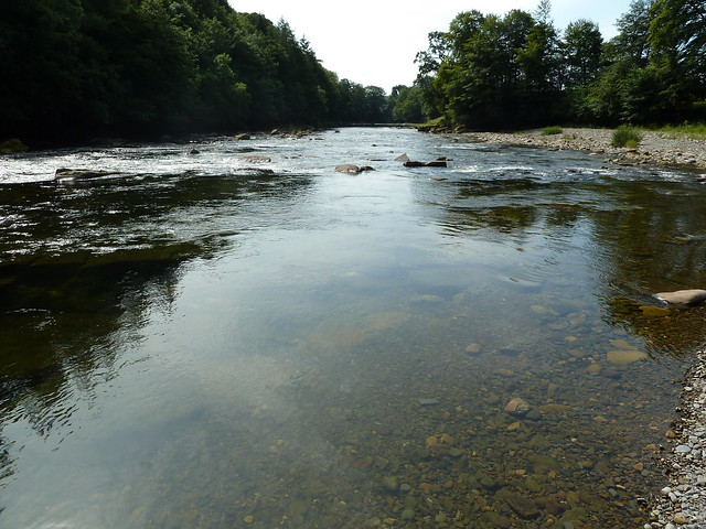 River Esk at Gilnockie Tower