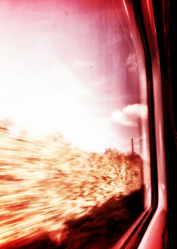 Red Train Blur | by cherbert