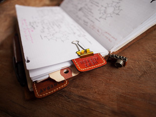 GTD Leather tabs on Traveler's Notebook | by Patrick Ng
