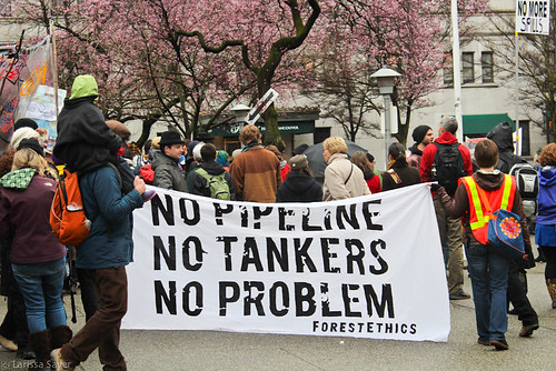 No Tankers Rally - No Pipeline, No Tankers, No Problem | by Laríssa