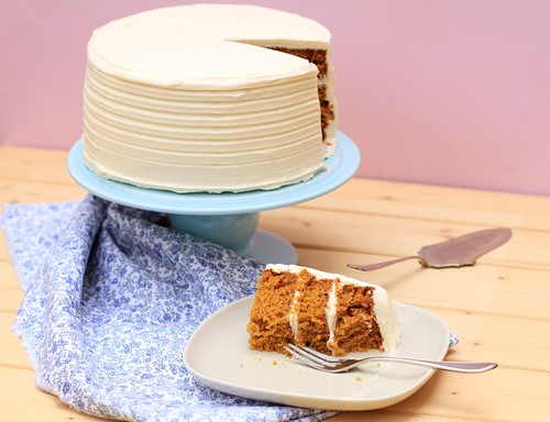 Spiced Pumpkin Layer Cake | by Bea Roque