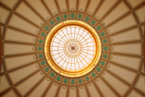 The Dome ceiling inside the Chattanooga Choo Choo | by SeeMidTN.com (aka Brent)