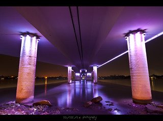 Under the bridge - was taken in the middle of the rain | by Ton Ten