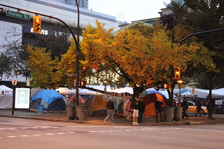 Occupy Vancouver Tents | by Alaidh...PLEASE CHANGE IT BACK!!!