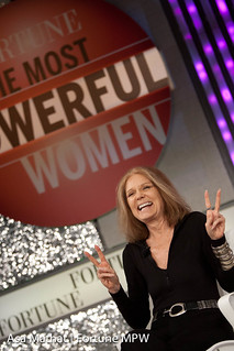Gloria Steinem of Ms. Magazine and the Women's Action Alliance speaking during ONE ON ONE: Gloria Steinem | by Fortune Live Media