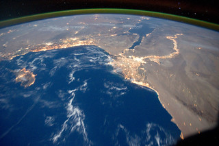 Mediterranean Sea Area at Night (NASA, International Space Station, 10/15/11) | by NASA's Marshall Space Flight Center