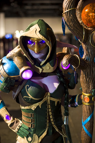 Blizzcon 2011 – Night Elf Druid | by Onigun