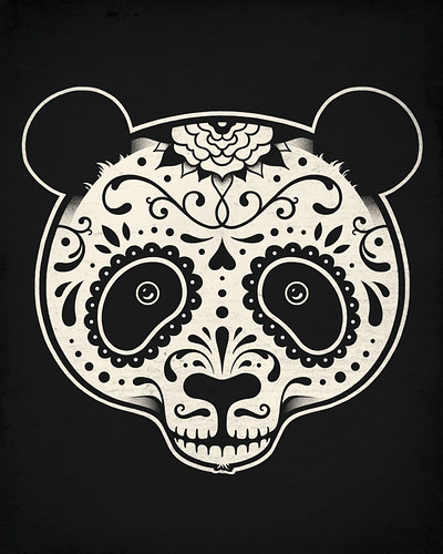 Day of the Dead Panda | by enkel dika