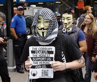 Occupy Wall Street Anonymous 2011 Shankbone | by david_shankbone