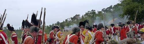 Redcoats & Rebels Revolutionary War Reenactment | by leewrightonflickr