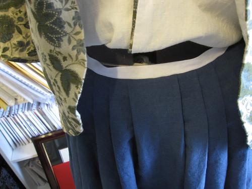 Petticoat waistband