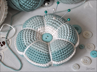 Crochet Pincushion | by Carol Draper
