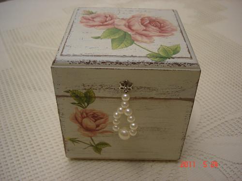 artesanato em madeira caixa para batom em p?tina ...