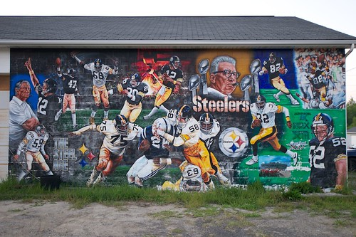 Old School Steelers Mural | by louhamilton23