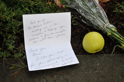 A note for Steve Jobs | by elwetritsche