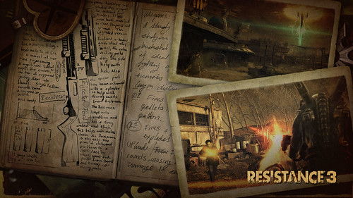 Resistance 3: Survivor Pack: Static Theme | by PlayStation.Blog
