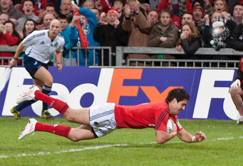 Conor Murray dives over the line | by ivanoriordan