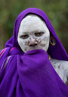 Suri woman with labret - Omo Ethiopia | by Eric Lafforgue
