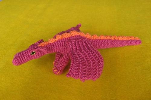 Fierce Little Dragon Amigurumi Pattern : Fierce Dragon ???? www.ravelry.com/patterns/library ...