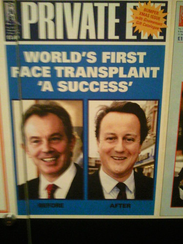 World's 1st face transplant success Private Eye cover at Victoria & Albert Museum, London | by Karen V Bryan