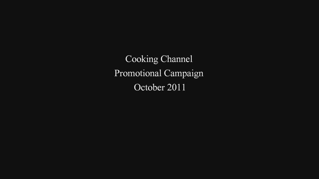 Cooking Channel Promo with the Happy Little Bento family (long version)