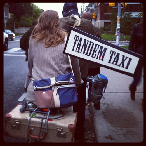 Tandem Taxi #tweedtweeters | by photojunkie