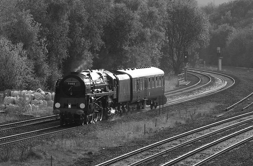 "71000 ""Duke of Gloucester"" , Claycross Jct 