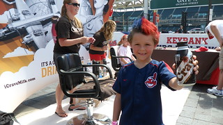 Crave at the Cleveland Indians Game- Progressive Field | by Crave Milk