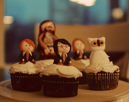 Harry Potter Cupcakes | by MyOwlBarn