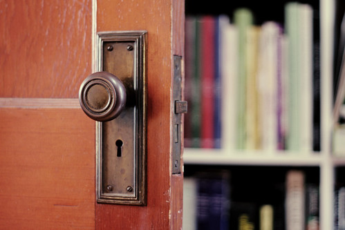 The Existing Door's Hardware | by Nicole Balch