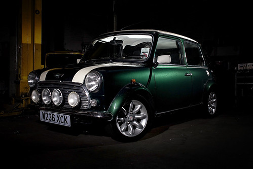 Mini cooper sport in the garage flickr photo sharing for Garage mini cooper annemasse