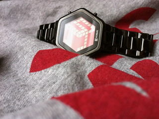 Kisai 3D Unlimited Red LCD Watch Design | by Tokyoflash Japan