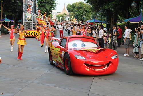 Lightning McQueen Live! rolls out at Hong Kong Disneyland