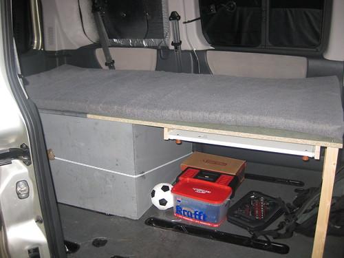 mueble cama para la furgo  Camperizando un poco mas  Flickr