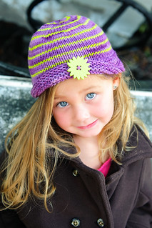 Buttoned Beanie | by TotToppers