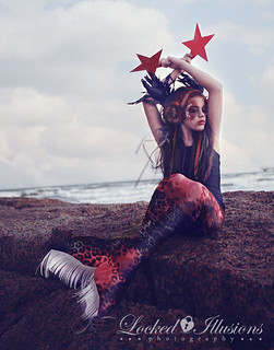 gothic mermaid | by lockedillusionz