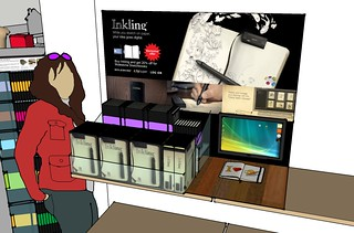 Inkling x Moleskine promotion - planning stage | by Patrick Ng