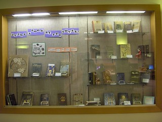 Book Cover Display | by Mills College Displays