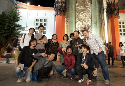 Adobe MAX 2011 in LA 前日